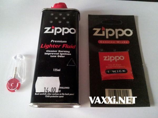 Consumabile Zippo