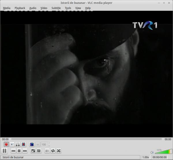 TVR 1 DVB-T în VLC