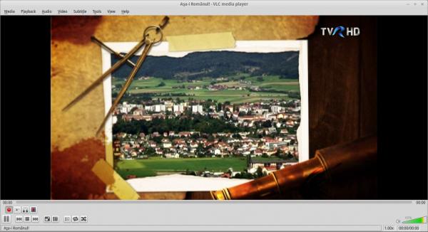 TVR HD DVB-T în VLC